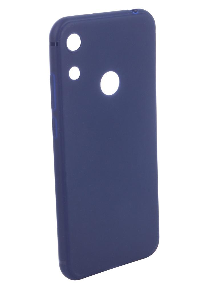 Аксессуар Чехол Neypo для Huawei Y6 2019 Soft Matte Silicone Dark Blue NST11315