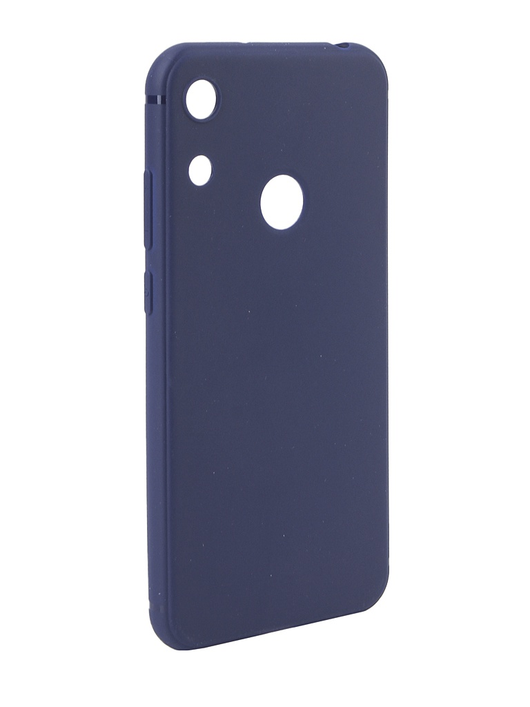 Чехол Neypo для Huawei Honor 8A Soft Matte Silicone Dark Blue NST10550