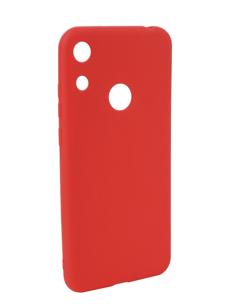 Аксессуар Чехол Neypo для Huawei Honor 8A Soft Matte Silicone Red NST11236 аксессуар чехол для huawei honor 10 neypo brilliant silicone red crystals nbrl4504