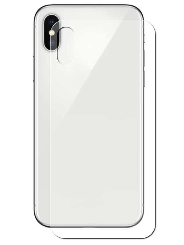 Аксессуар Защитная пленка Ainy для APPLE iPhone Xs Max Back матовая AA-A932 аксессуар защитная пленка iphone xs max red line задняя часть ут000016929
