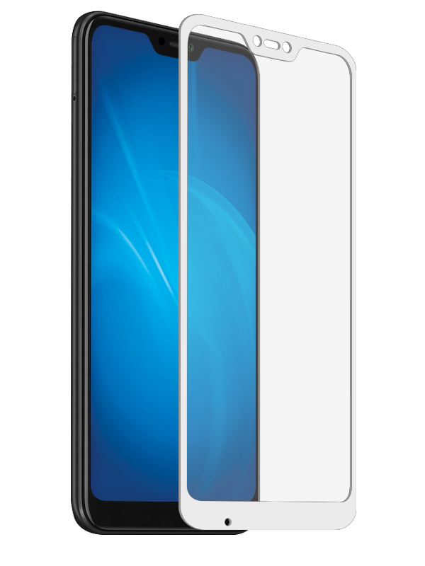 Аксессуар Защитное стекло Ainy для Xiaomi Redmi 6 Pro/Mi A2 Lite Full Screen Full Glue Cover 0.25mm White AF-X1264B original led32f2200ce 35017012 screen hv320wx2 201