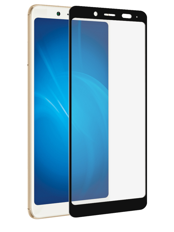 Аксессуар Защитное стекло Ainy для Xiaomi Redmi Note 5/Note 5 Pro Full Screen Cover 3D Hybrid 0.15mm Black Ai-X018A защитное стекло skinbox full screen для xiaomi redmi note 5 pro с рамкой черный
