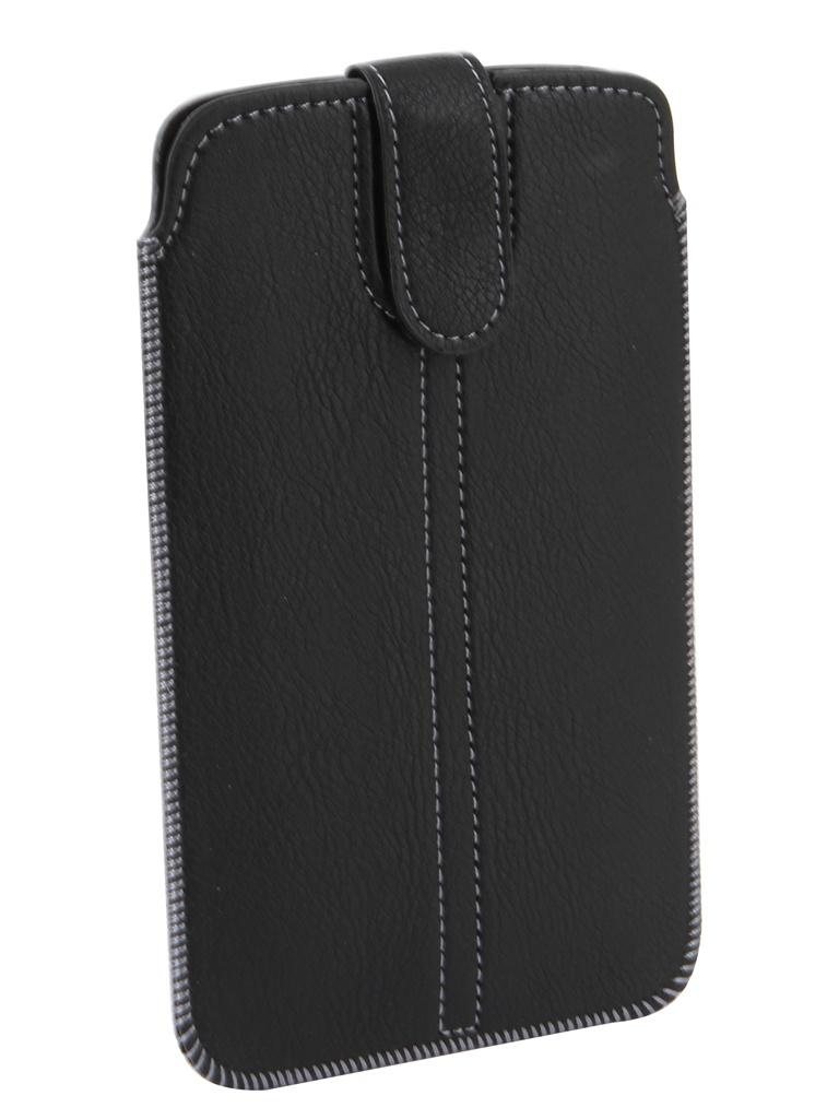 Чехол с лентой Neypo Pocket Case для смартфонов до 5.4-inch 80x150mm Black NP10424
