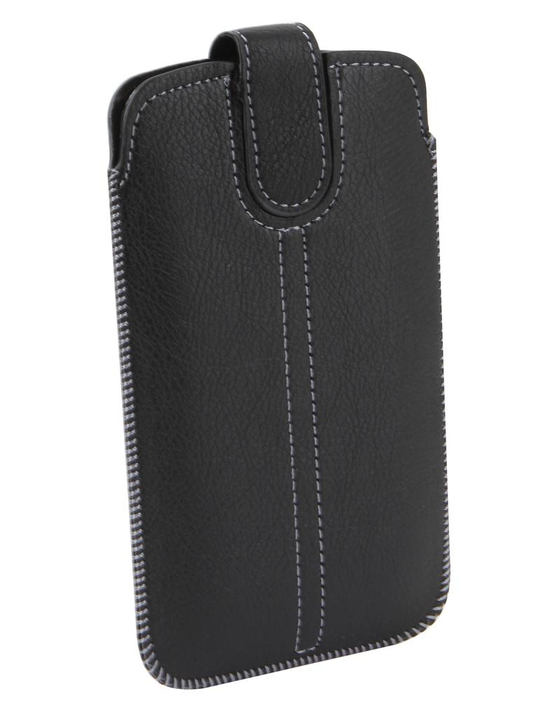Чехол с лентой Neypo Pocket Case для смартфонов до 5.0-inch 70x135mm Black NP10425