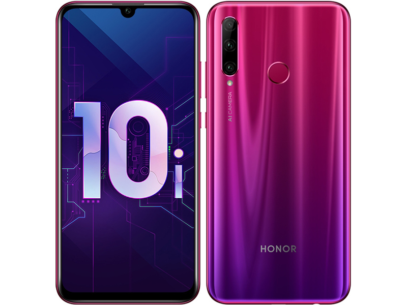 Сотовый телефон Honor 10i 128GB Red сотовый