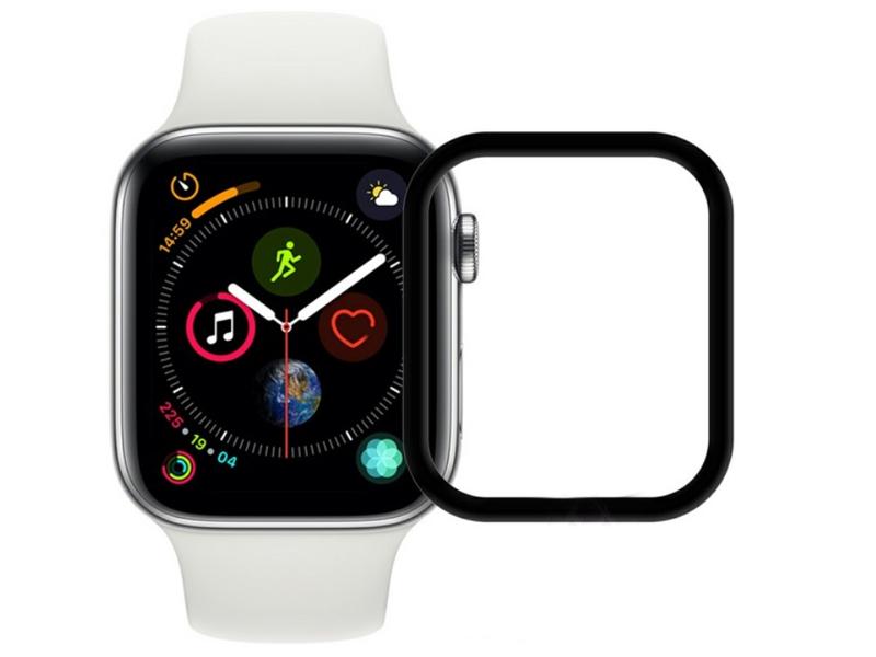 Аксессуар Защитное стекло для APPLE Watch 4 40mm LuxCase 3D FG Black Frame 78010 аксессуар защитное стекло luxcase 3d для apple iphone x black frame 77309