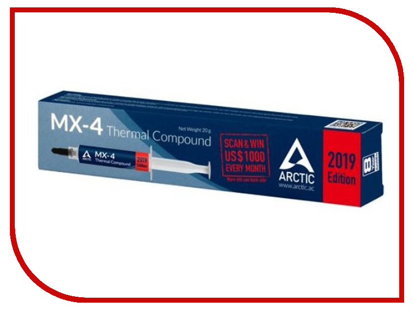 Купить Термопаста Arctic MX-4 Thermal Compound 45g ACTCP00024A