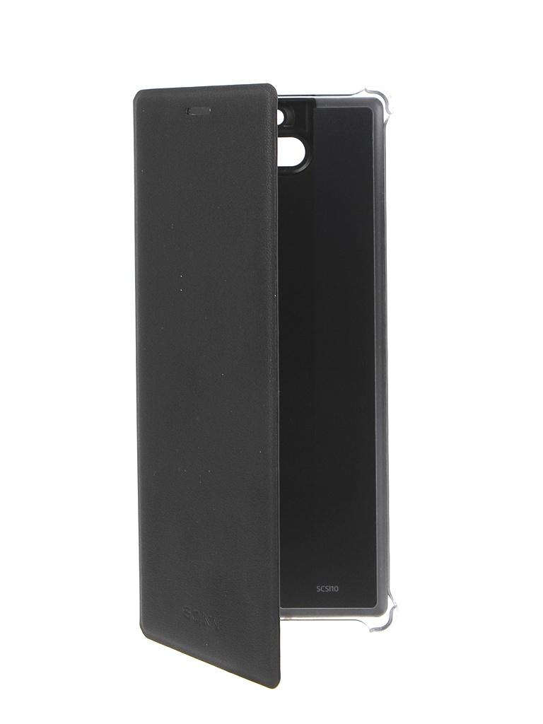 Чехол Sony Xperia X10 SCSI10 Black 1317-8489