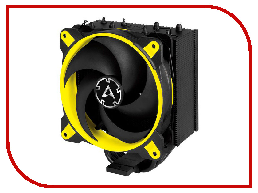 Кулер Arctic Freezer 34 eSports Yellow ACFRE00058A (Intel LGA 1150-56/2066/2011-v3/AMD AM4) cooler for cpu arctic cooling freezer 33 tr white acfre00039a 2066 2011v3 am4