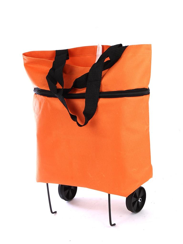Сумка-тележка Bradex Хозяйственная Orange TD 0560