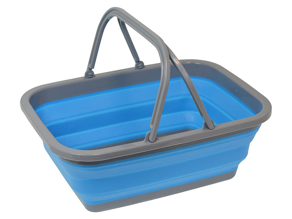 Аксессуар Корзина Bradex Blue TD 0536 аксессуар органайзер bradex сумка в сумке grey td 0339
