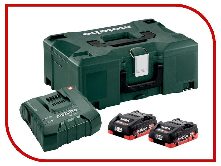 Комплект Metabo Basic-Set2 x LiHD18V 4.0Ah + ASCUltra + MetaLoc 685130000