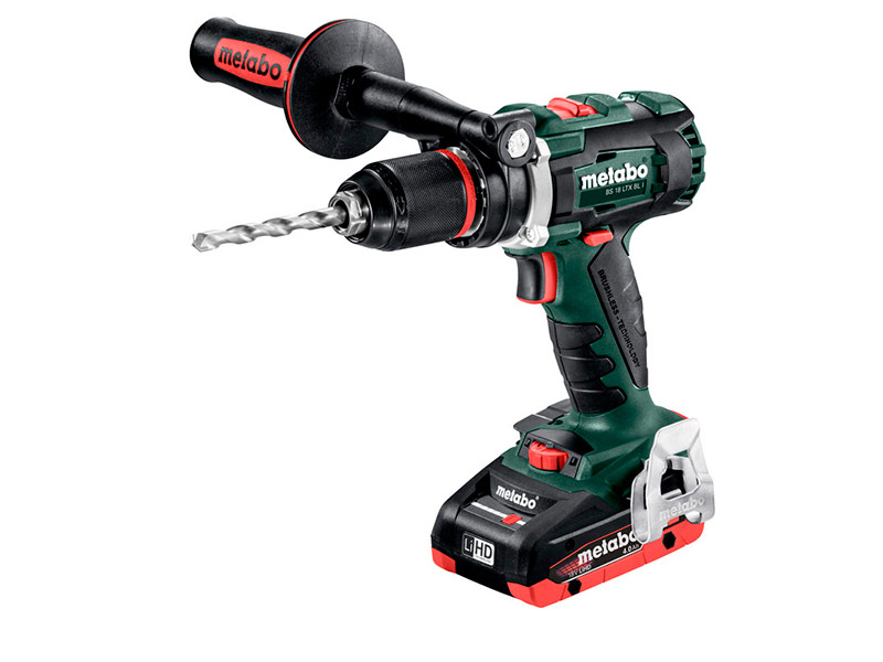 Электроинструмент Metabo BS 18 LTX BL I + 2хLiHD 4.0Ah ASC 30-36 Кейс 602350800