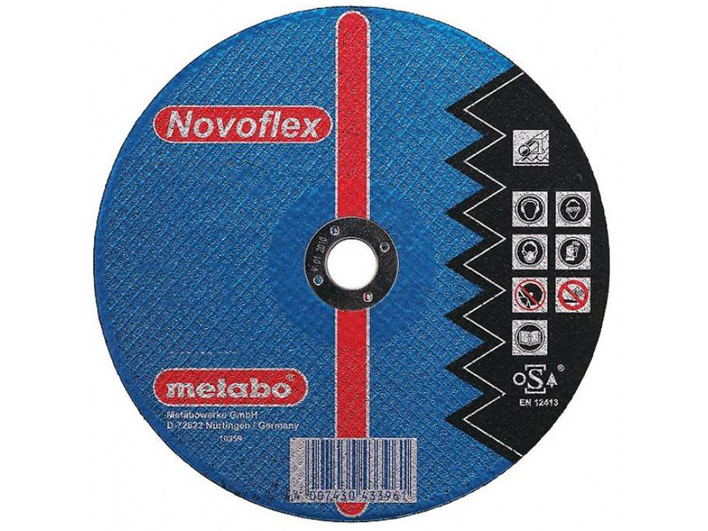 Диск Metabo SP-Novoflex180x6.0 RU Обдирочный для стали 617172000