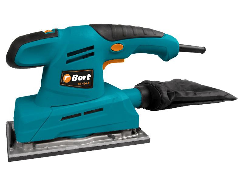 Шлифовальная машина Bort BS-450-R плоскошлифовальная машина bort bs 300 r