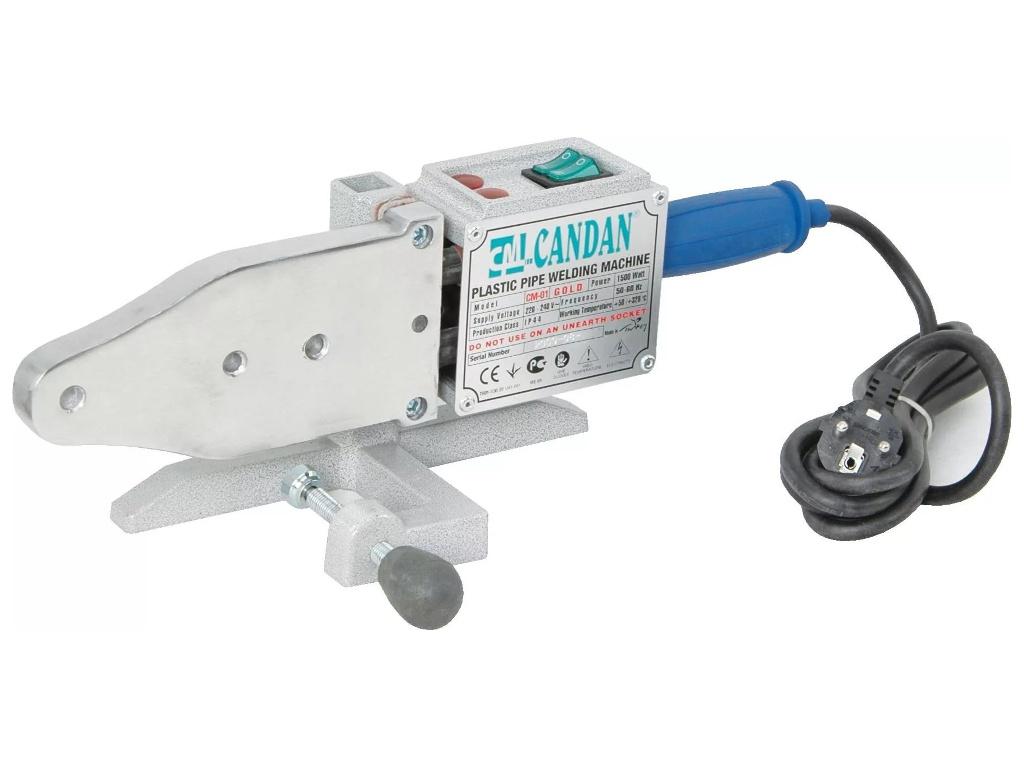 Аппарат для сварки пластиковых труб Candan CM-01 1500W 528013