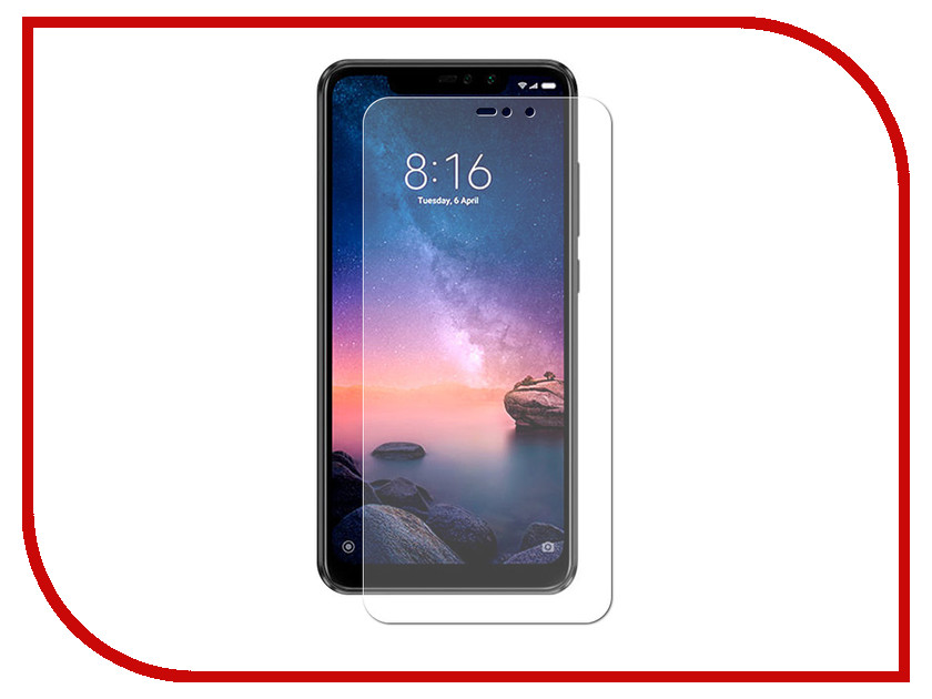 Аксессуар Защитное стекло для Xiaomi Redmi Note 6 Pro LuxCase 0.2mm 82577 бра dio d arte sorrento e 2 1 2 200 a
