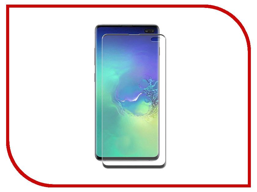 Купить Аксессуар Защитное стекло для Samsung Galaxy S10 Plus LuxCase 3D FG Black Frame 78059