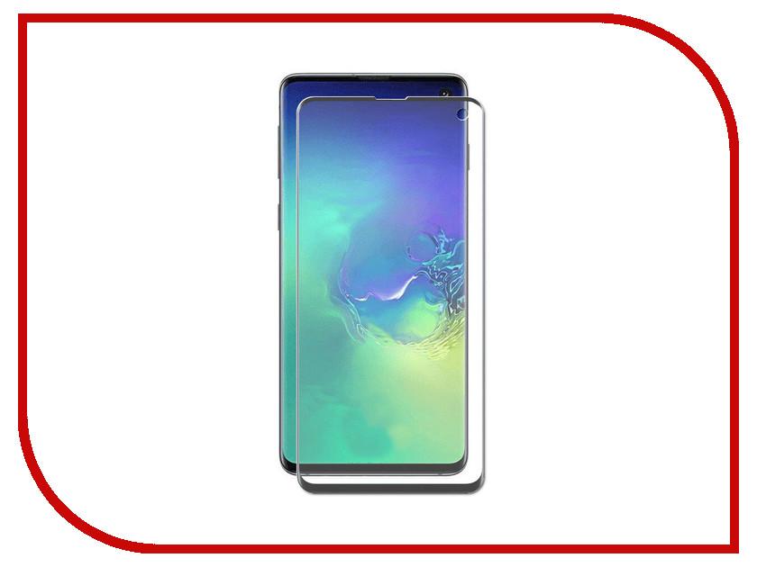 Купить Аксессуар Защитное стекло для Samsung Galaxy S10 LuxCase 3D FG Black Frame 78058