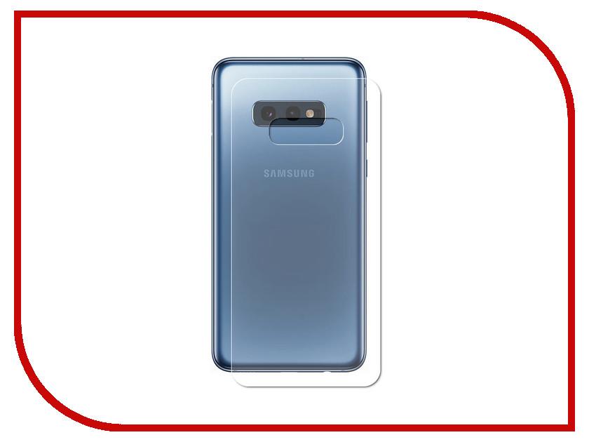 Аксессуар Защитная пленка для Samsung Galaxy S10e LuxCase Back На весь экран Transparent 89217