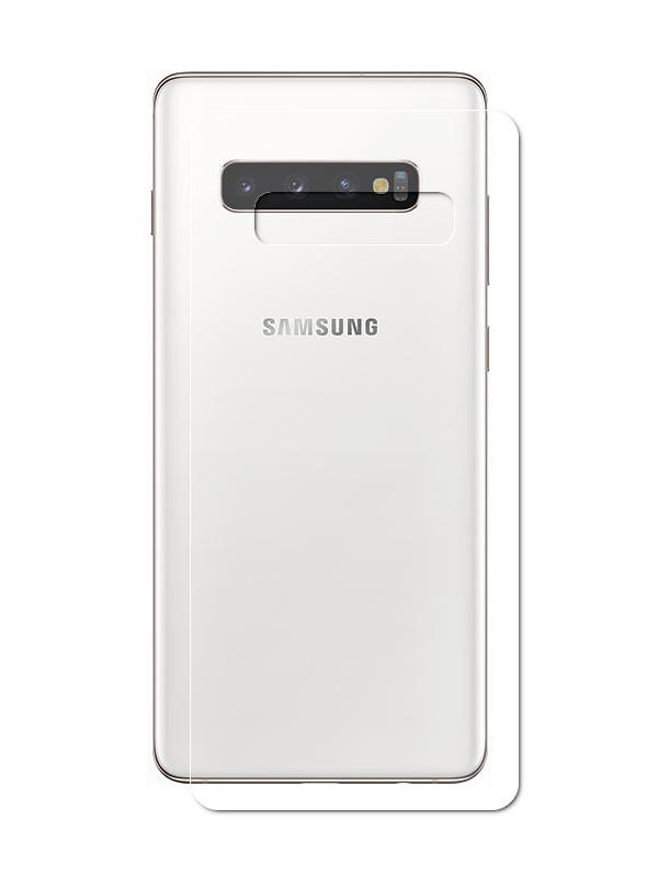 Аксессуар Защитная пленка LuxCase Front&Back На весь экран для Samsung Galaxy S10 Plus Transparent 89214 защитная плёнка для samsung galaxy a5 2017 sm a520f на весь экран tpu прозрачная luxcase
