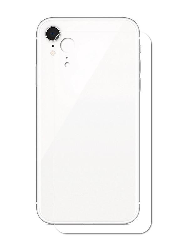 купить Аксессуар Защитная пленка LuxCase для APPLE iPhone Xr Back На весь экран Transparent 89183 онлайн