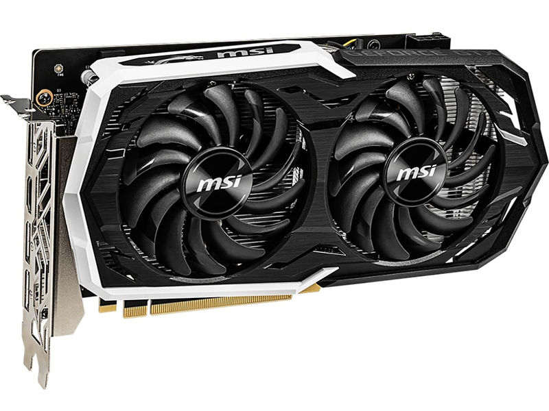 Видеокарта MSI GeForce GTX 1660 1845Mhz PCI-E 3.0 6144Mb 8000Mhz 192 bit 3xDP HDMI Armor 6G OC