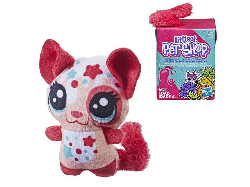Игрушка Hasbro Littlest Pet Shop Пет в коктейле E2968EU4 hasbro мягкая игрушка little pet shop черепашка