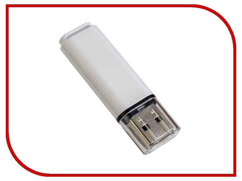 USB Flash Drive 16Gb - Perfeo C13 White PF-C13W016 usb flash drive 16gb perfeo c13 white pf c13w016