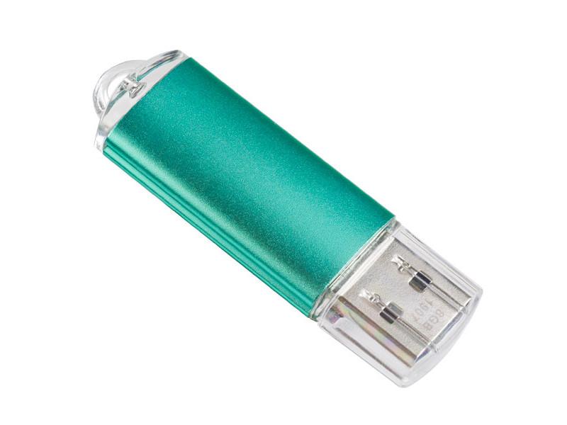 USB Flash Drive 32Gb - Perfeo E01 Green PF-E01G032ES usb flash drive 32gb perfeo e01 silver pf e01s032es