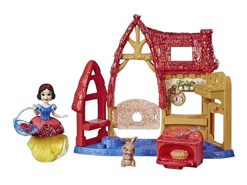 Игрушка Hasbro Disney Princess Набор игровой маленьких кукол с обстановкой E3052EU4