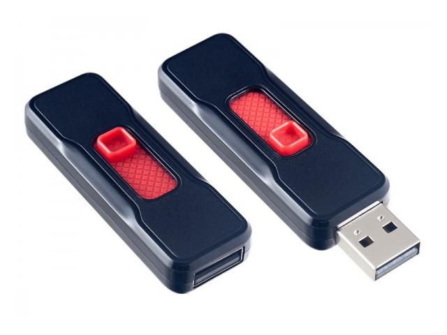 USB Flash Drive 32Gb - Perfeo S04 Black PF-S04B032