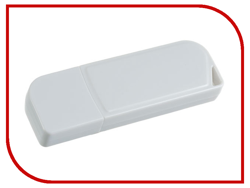 USB Flash Drive 4Gb - Perfeo C10 White PF-C10W004 usb flash drive 16gb perfeo c13 white pf c13w016
