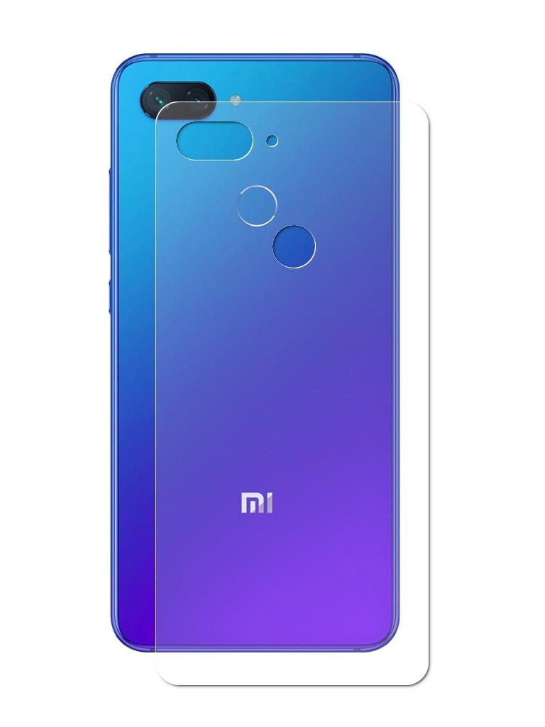 все цены на Аксессуар Защитная пленка LuxCase для Xiaomi Mi8 Lite Back На весь экран Transparent 89073 онлайн