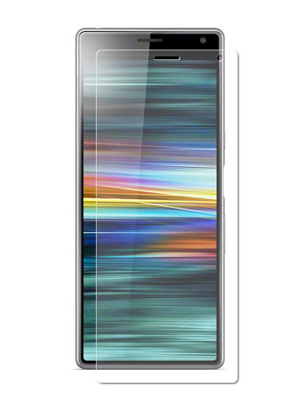 Аксессуар Защитная пленка LuxCase для Sony Xperia 10 Plus На весь экран Transparent 88373 все цены