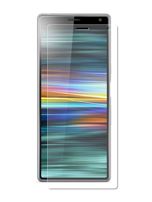 Аксессуар Защитная пленка LuxCase для Sony Xperia 10 На весь экран Transparent 88372