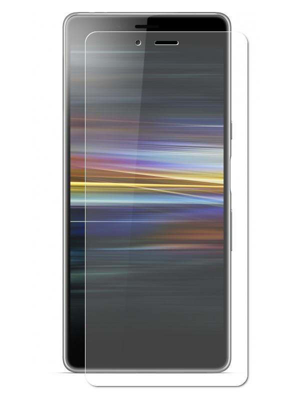 Аксессуар Защитная пленка LuxCase для Sony Xperia L3 На весь экран Transparent 88371 luxcase защитная пленка для sony xperia zl c6502 антибликовая