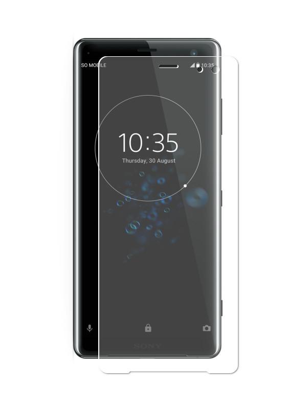 Аксессуар Защитная пленка LuxCase для Sony Xperia XZ3 На весь экран Transparent 88370 защитная пленка luxcase для sony xperia e e dual антибликовая 53х92 мм