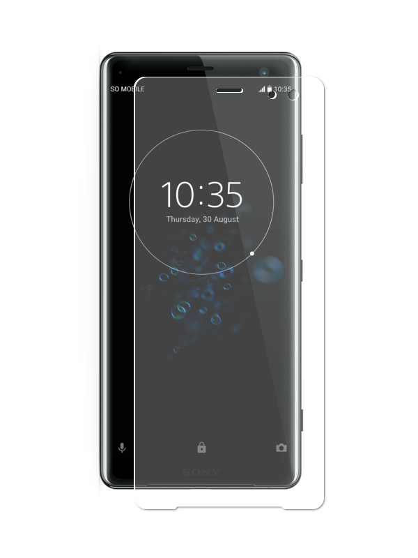 Аксессуар Защитная пленка LuxCase для Sony Xperia XZ3 На весь экран Transparent 88370