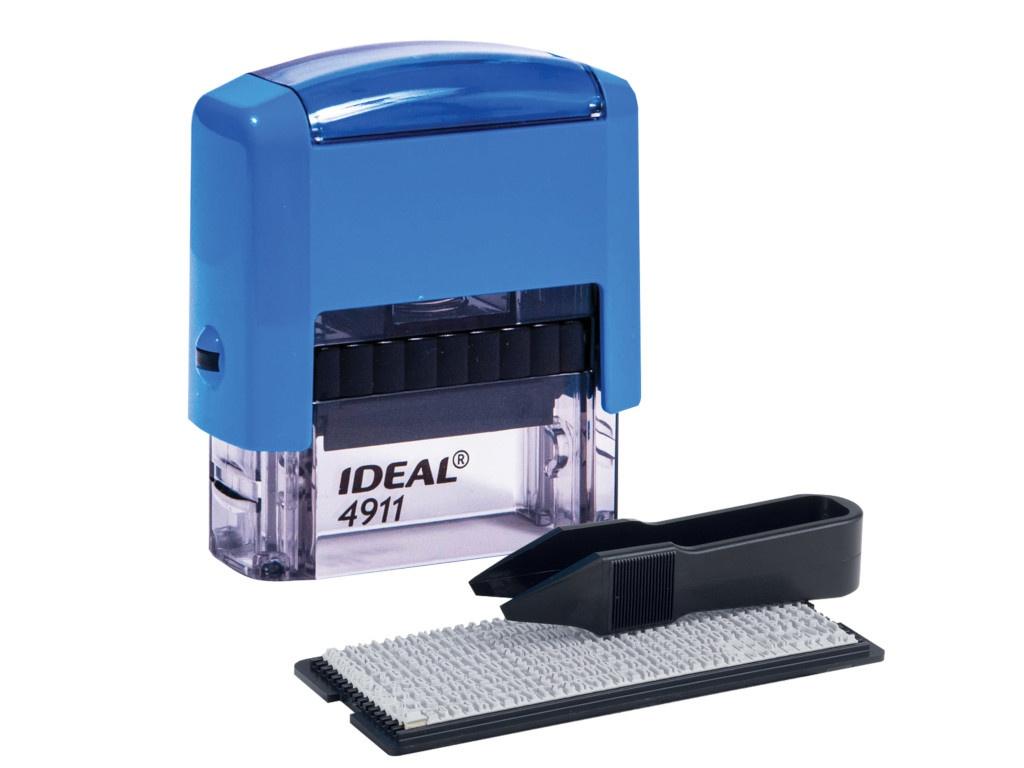 Штамп самонаборный Trodat 4911P2F Blue
