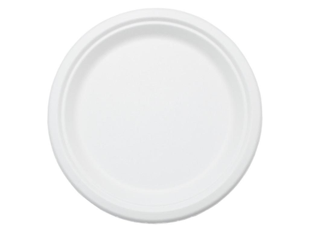 Одноразовые тарелки Ecovilka 125шт TT07