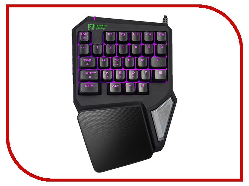 Клавиатура Harper Gaming Foxtrot GKB-95 Black