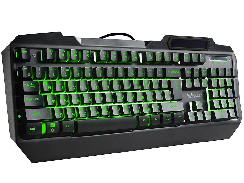 Клавиатура Harper Gaming Fulcrum GKB-20 Black