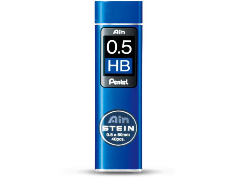 Грифель Pentel Ain Stein 40шт 0.5mm C275-HB