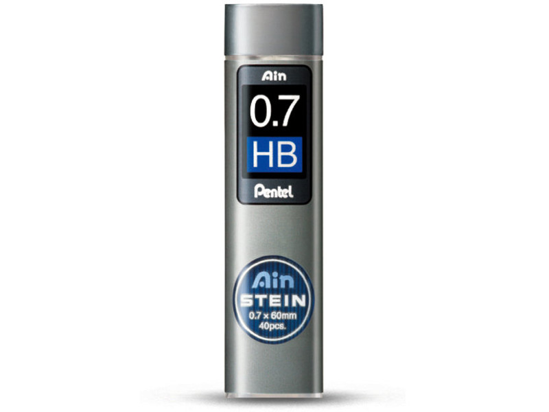 Грифель Pentel Ain Stein 40шт 0.7mm C277-HB