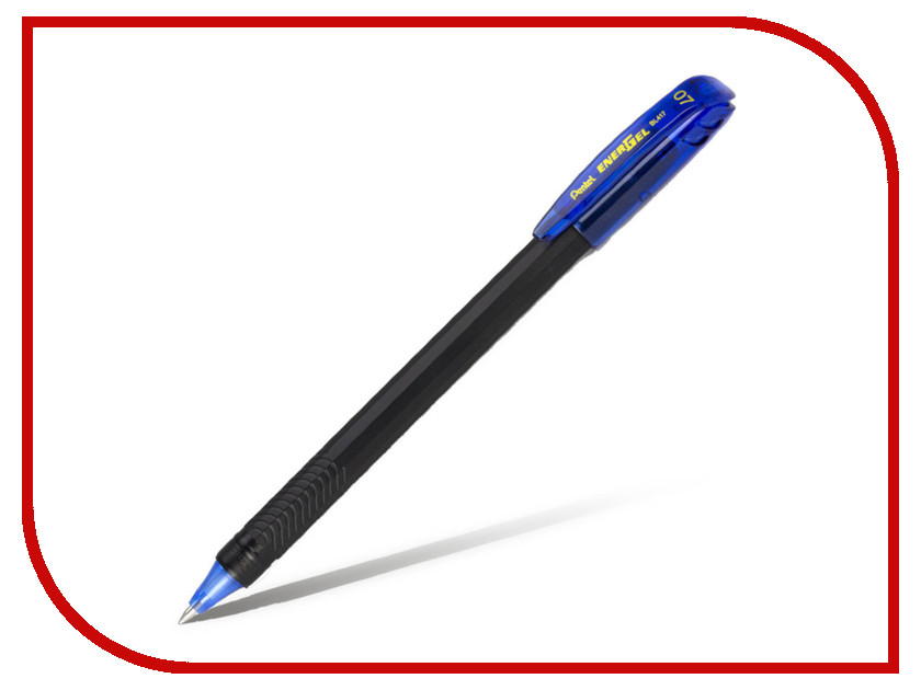 Купить Ручка гелевая Pentel Energel 0.7mm Blue BL417-C, Япония