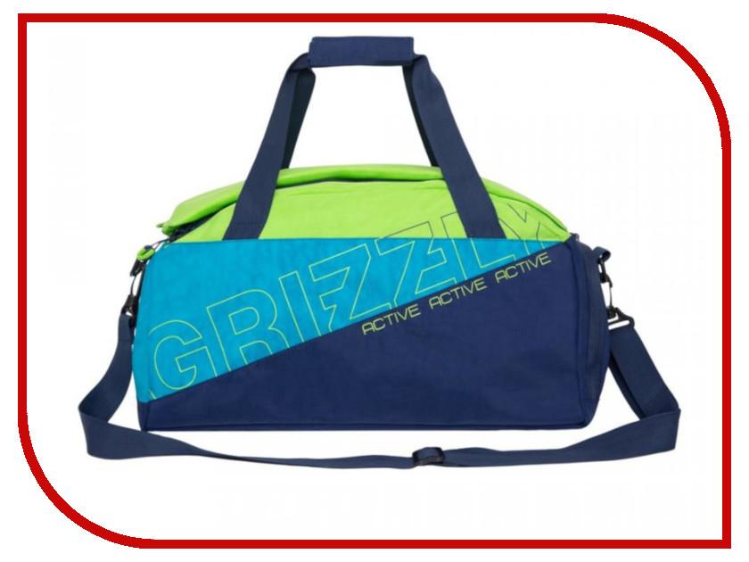 Купить Сумка Grizzly TU-910-2/1 Blue-Lime