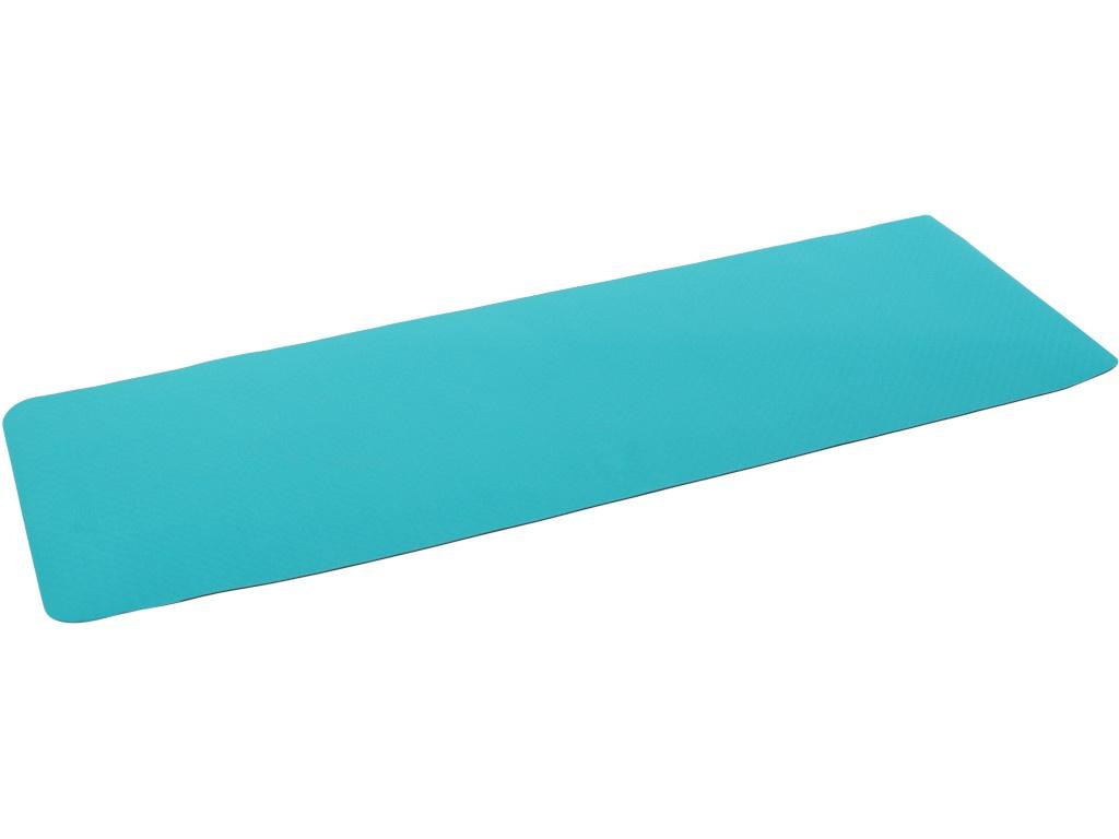 Коврик Larsen TPE 173x61x0.4cm Turquoise-Grey 354080 гантель цельнолитая larsen nt161