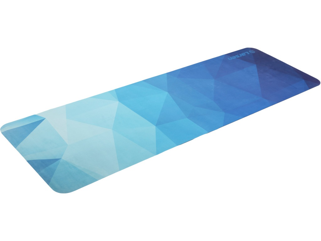 Коврик Larsen Microfiber Style 7 180x60x0.3cm 356767 гантель цельнолитая larsen nt161
