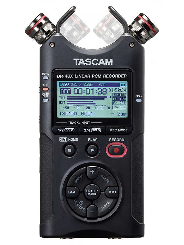 Диктофон Tascam DR-40X